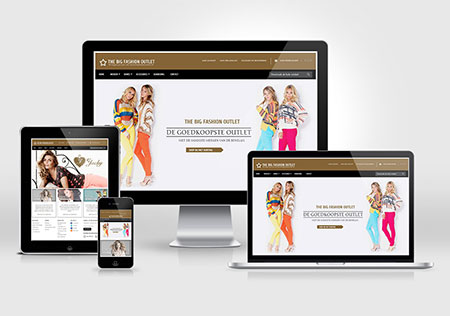 The Big Fashion Outlet build with Magento